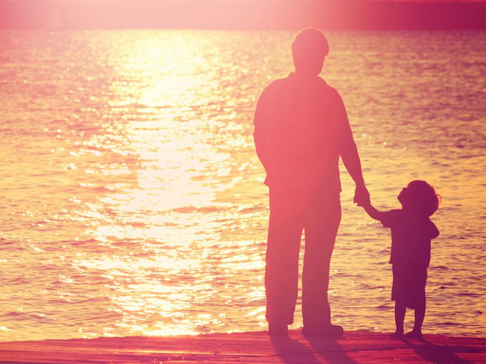 funeral poems for grandad- grandfather and son