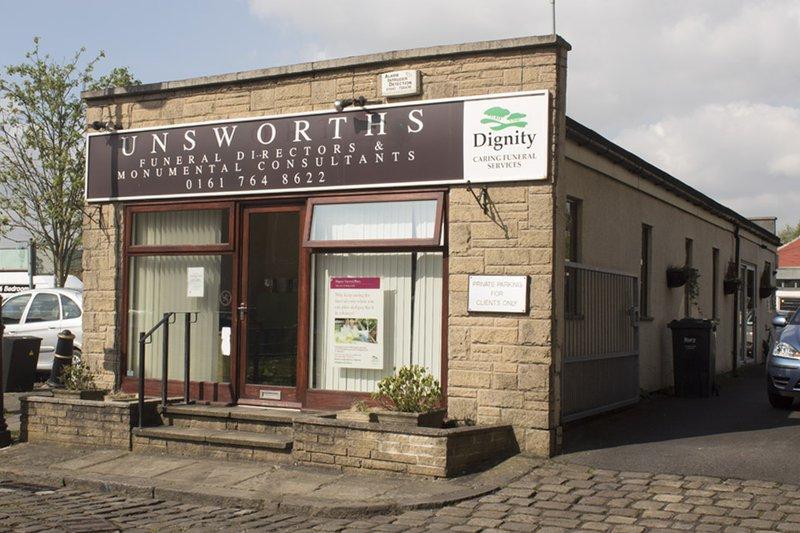Unsworths Funeral Directors, Bury Cooper St