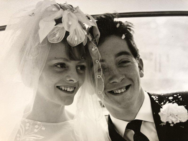 Jim and Dorothy's wedding