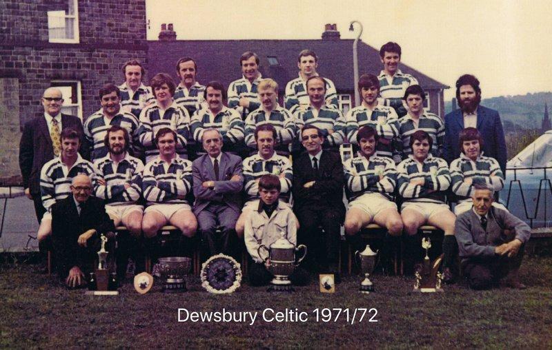 Joe with the Celtic team RIP Joe