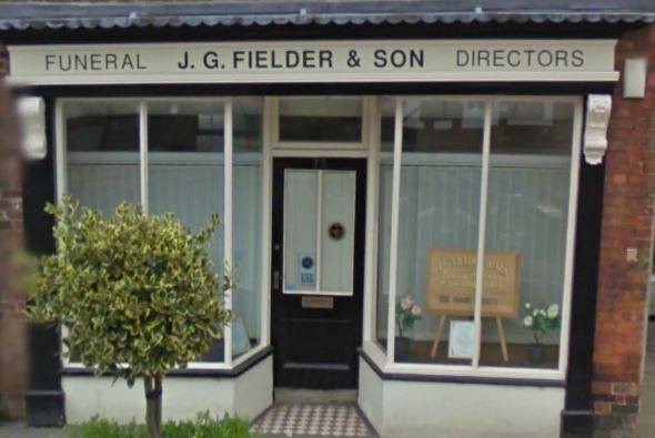 J G Fielder & Son Funeral Directors, Market Weighton, East Riding, funeral director in East Riding
