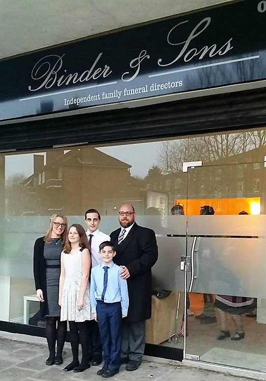 Binder & Sons, London, funeral director in London