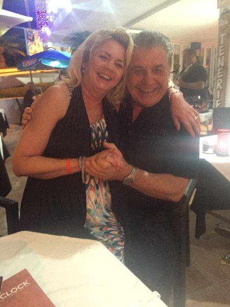 Dancing the night away in Tenerife