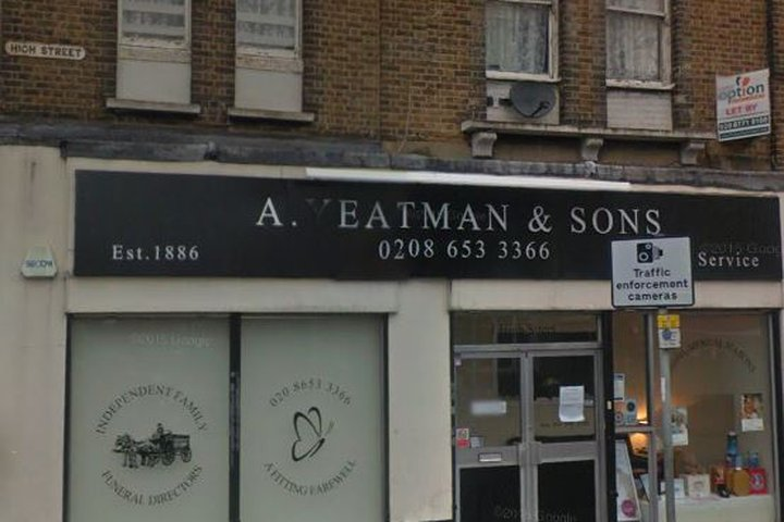 A Yeatman & Sons Funeral Directors, South Norwood