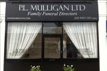 P L Mulligan Funeral Directors, Bexleyheath