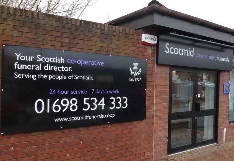 Scotmid Funerals, Hamilton, South Lanarkshire, funeral director in South Lanarkshire