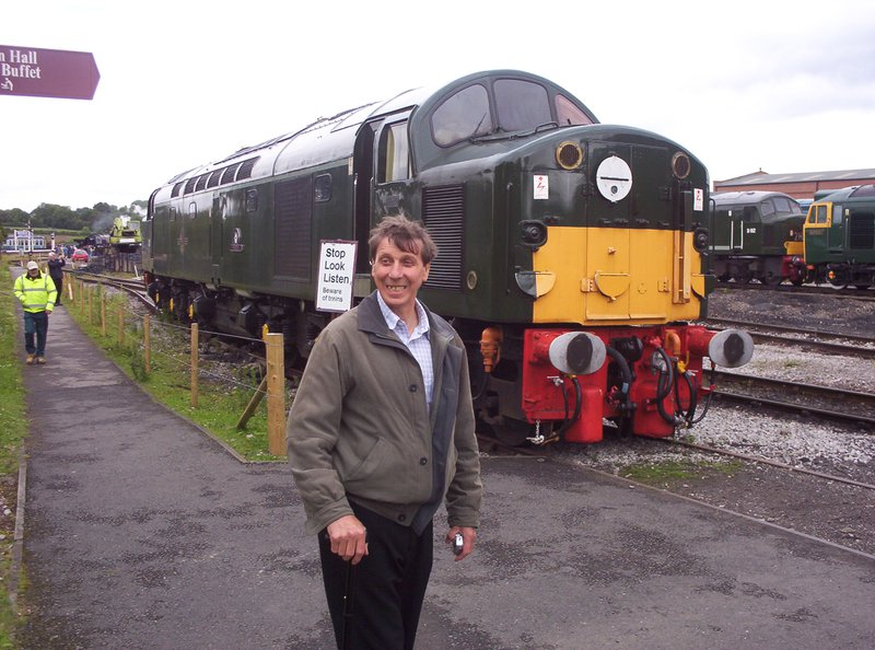 my dad loved his trains x