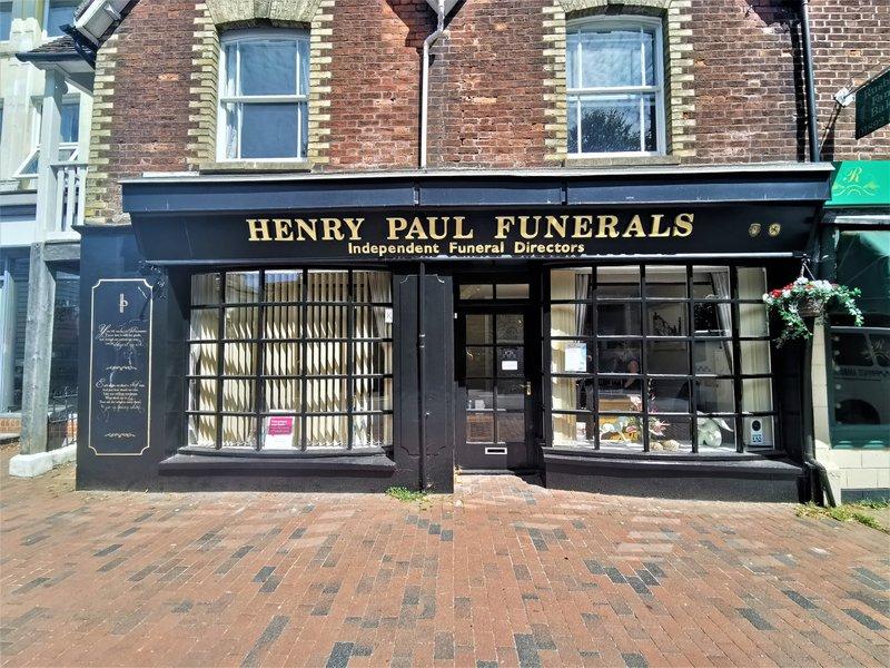Henry Paul Funerals, Southborough Branch, kent, funeral director in kent