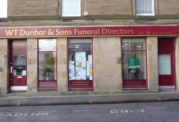 W T Dunbar & Sons Funeralcare, Morningside