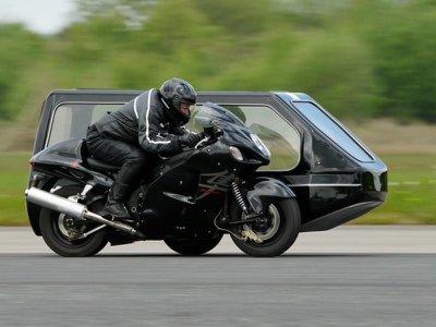 Alternative funeral transport in the UK