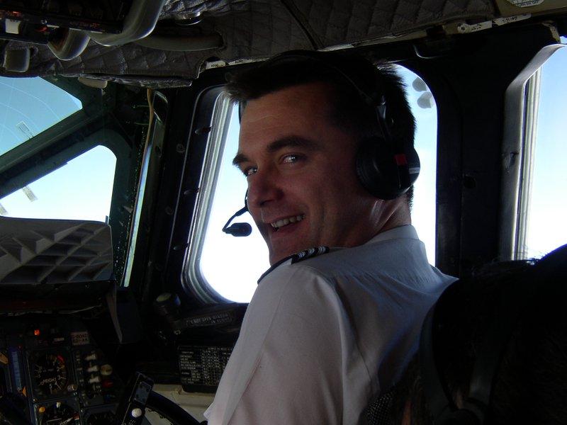 James on Concorde (circa 2002)
