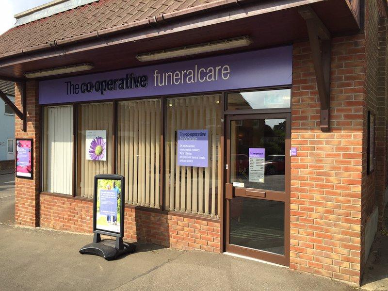 The Co-operative Funeralcare Desborough, Northamptonshire, funeral director in Northamptonshire