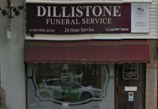 Dillistone Funeral Directors, Littlehampton, West Sussex, funeral director in West Sussex