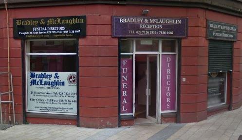 Bradley & McLaughlin Funeral Directors, City Office
