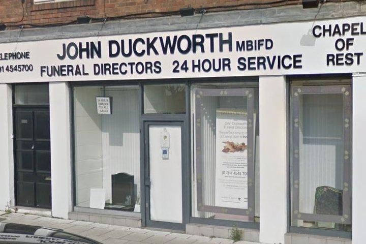 John Duckworth Funeral Directors, South Shields
