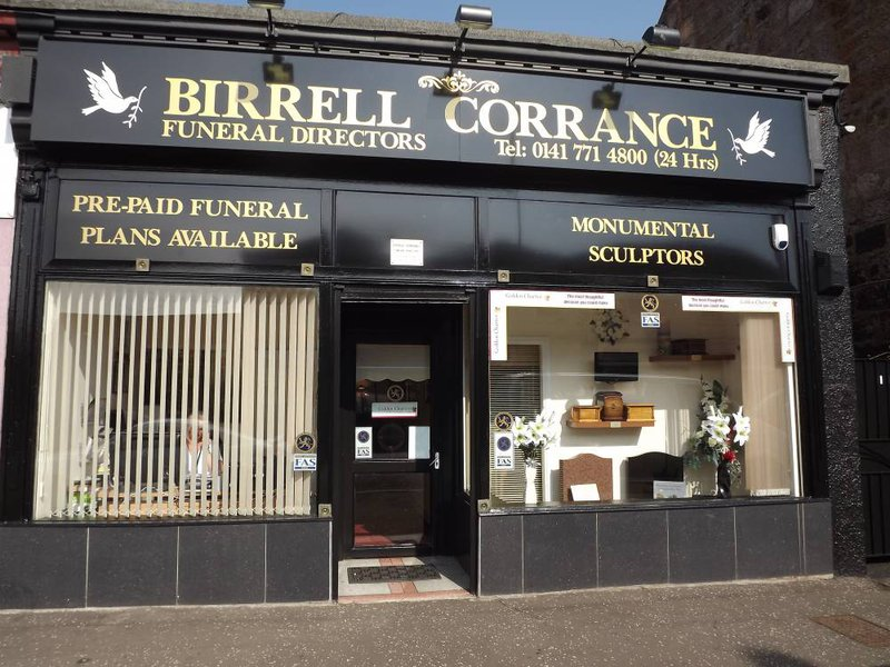 Birrell Corrance Funeral Director, Glasgow City, funeral director in Glasgow City