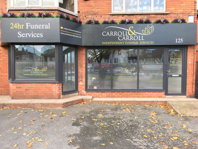 Carroll & Carroll Independent Funeral Services, Oakwood, Leeds, funeral director in Leeds