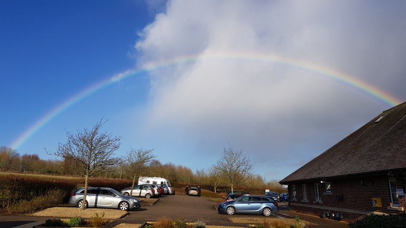 Sarah had a very memorable funeral, with lots of loving family and friends to commemorate her departure. At the end of the service the heavens even opened up to welcome their guest Sarah!