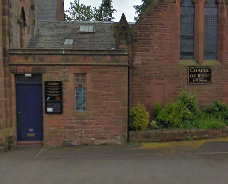 V & M Thomson Funeral Directors, Dumfries and Galloway, funeral director in Dumfries and Galloway