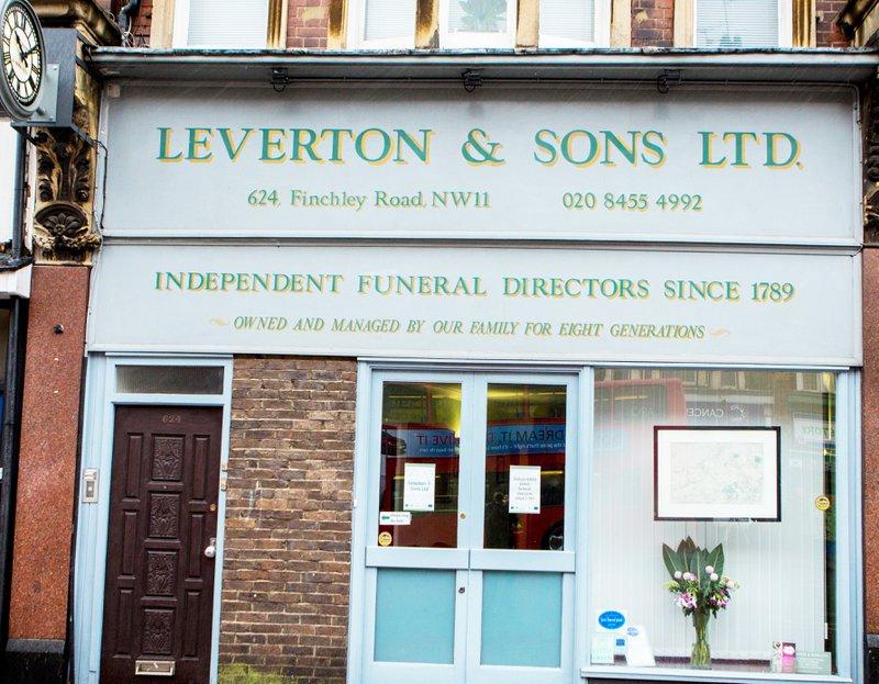Leverton & Sons Ltd, Golders Green