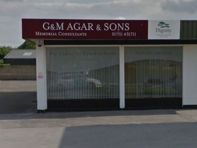 G & M Agar Funeral Directors, North Yorkshire, funeral director in North Yorkshire