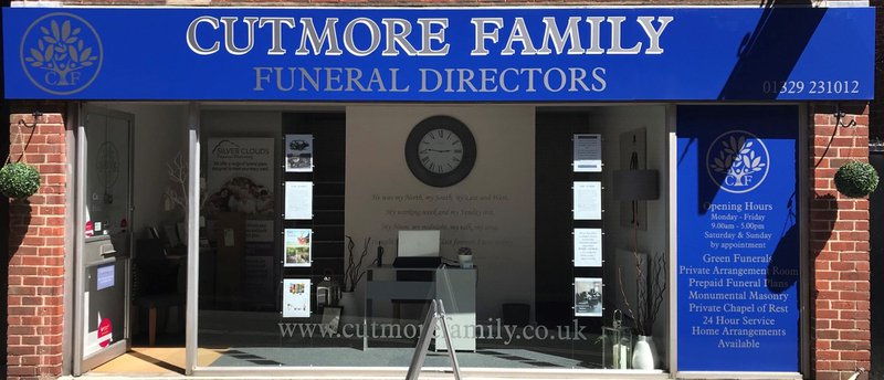 Cutmore Family Funeral Directors, Hampshire, funeral director in Hampshire