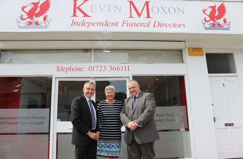 Kevin Moxon Independent Funeral Directors (Scarborough), North Yorkshire, funeral director in North Yorkshire