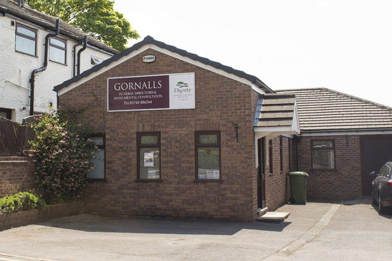 Gornall's Funeral Directors, Saint Helens