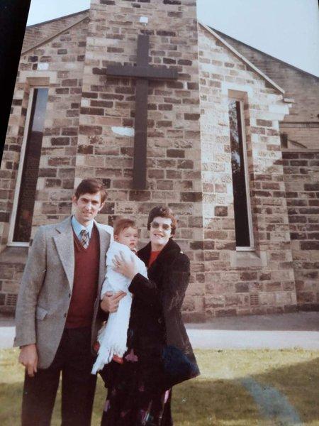 Mum Roy and Andrew