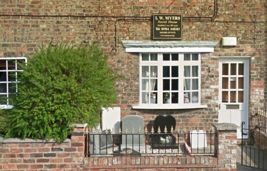 I W Myers Funeral Directors, York, funeral director in York