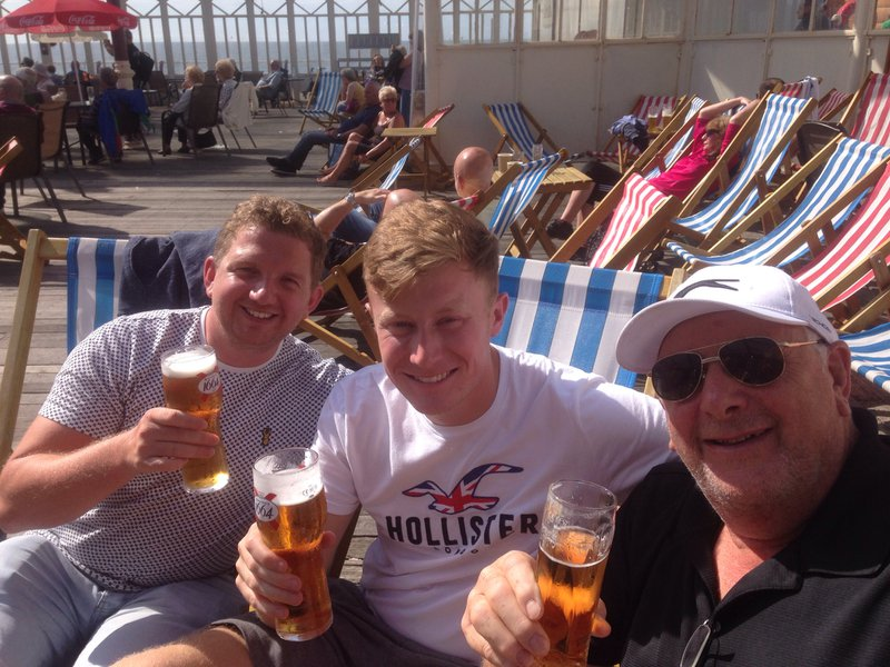 Happy days spent with Aunt Jen, Dave and Lewis in Blackpool. Dave will be missed by everyone whos heart he touched with his loving and kind nature. Lots of love to you all at this very sad time. Bethany, Jonathan, Dave, Jane and Ed xxx