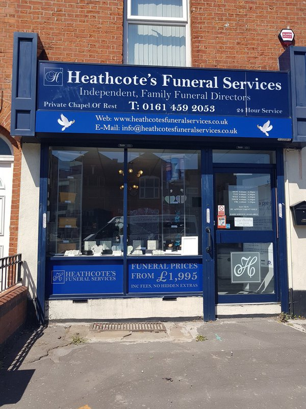 Heathcotes Funeral Services, Greater Manchester, funeral director in Greater Manchester