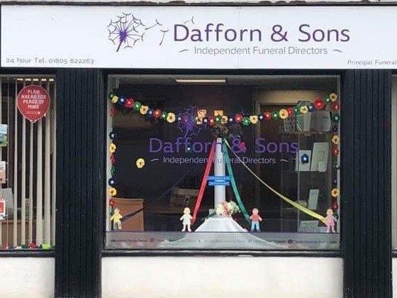 Dafforn & Son, Devon, funeral director in Devon