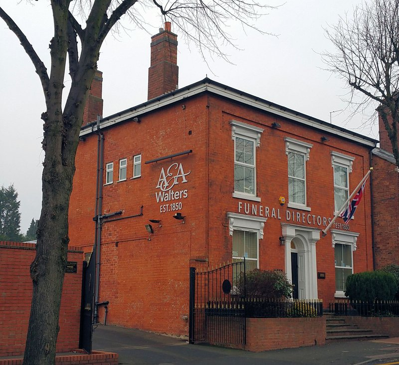 A & A Walters, Tipton, West Midlands, funeral director in West Midlands