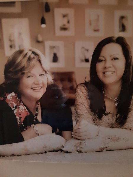 My best friend. I love you to the moon and back mum xxx love julie