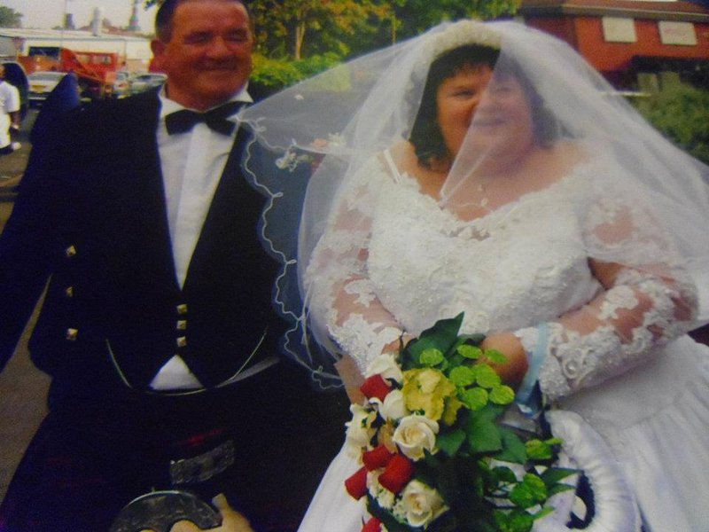 our lovely wedding day
