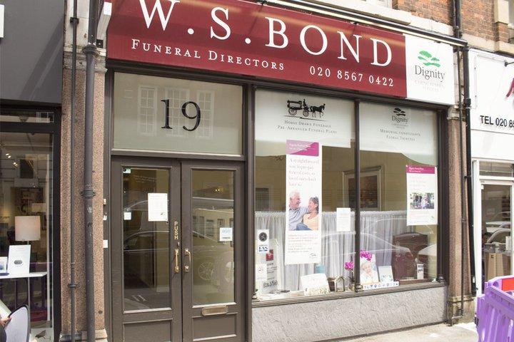 W S Bond Funeral Directors, Ealing
