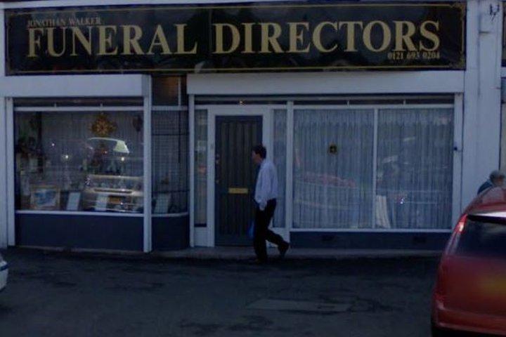 Jonathan Walker Funeral Directors, Sheldon