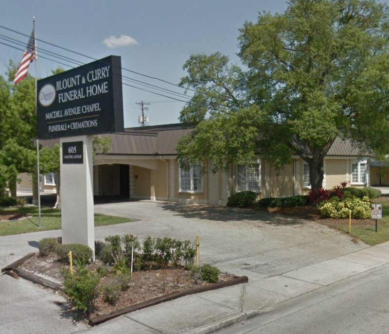 Blount & Curry Funeral Home, Tampa
