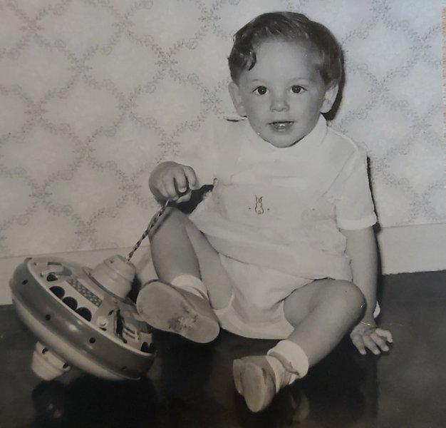 Paul aged 19 months, love mum xx
