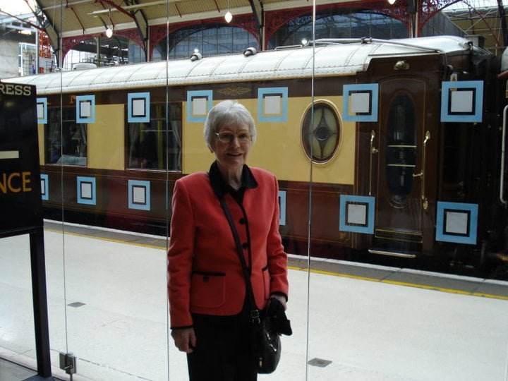 Preparing to board the Orient express, 2011