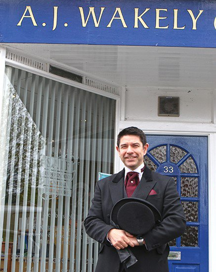 A J Wakely & Sons Ltd, Yeovil, Somerset, funeral director in Somerset