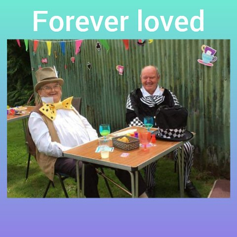 Uncle Stuart,with his best friend if over 64 years, my uncle Michael x
