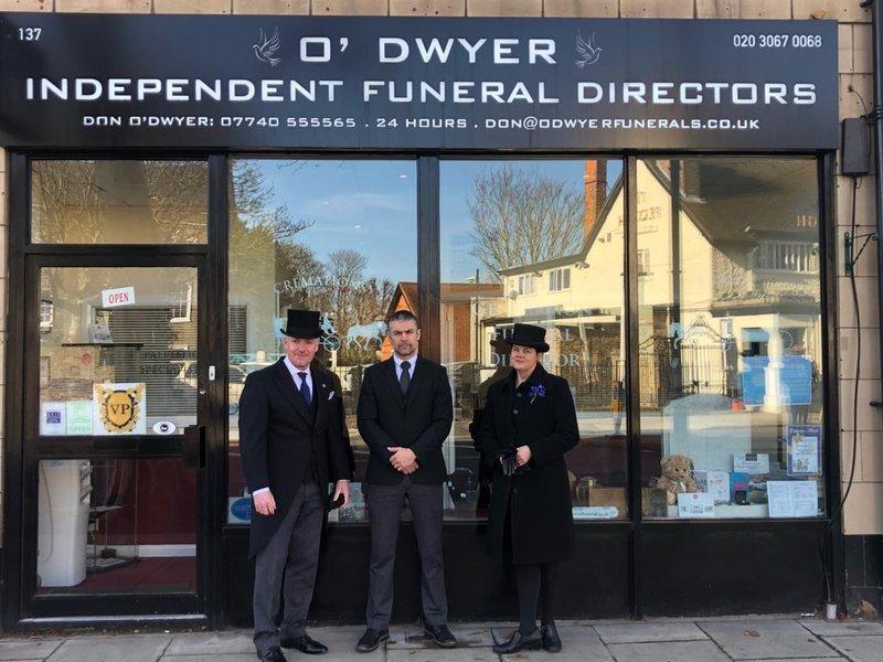 O'Dwyer Funeral Directors, London, funeral director in London