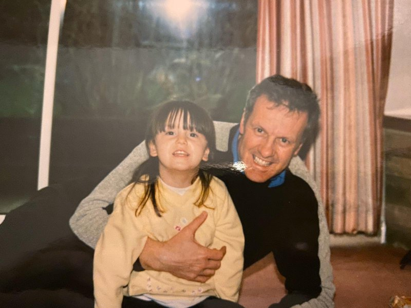 Dad and Shanice . Taken about 18 years ago.