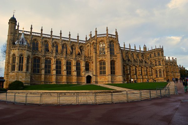 St. George's Chapel, the Royal Vault & the Royal Burial Ground