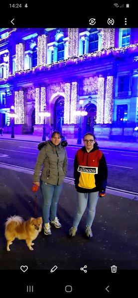 The girls on Christmas eve  💚