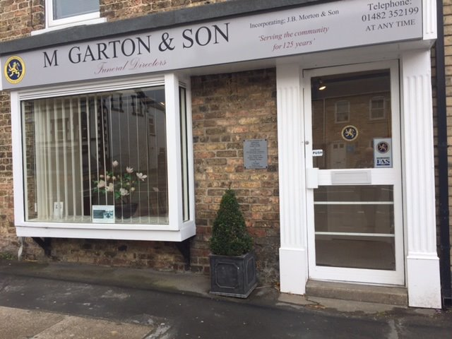 M Garton & Son Funeral Directors, South Cave, East Riding of Yorkshire, funeral director in East Riding of Yorkshire