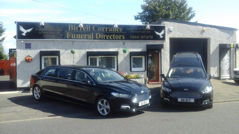 Birrell Corrance Funeral Directors, Cambuslang, South Lanarkshire, funeral director in South Lanarkshire