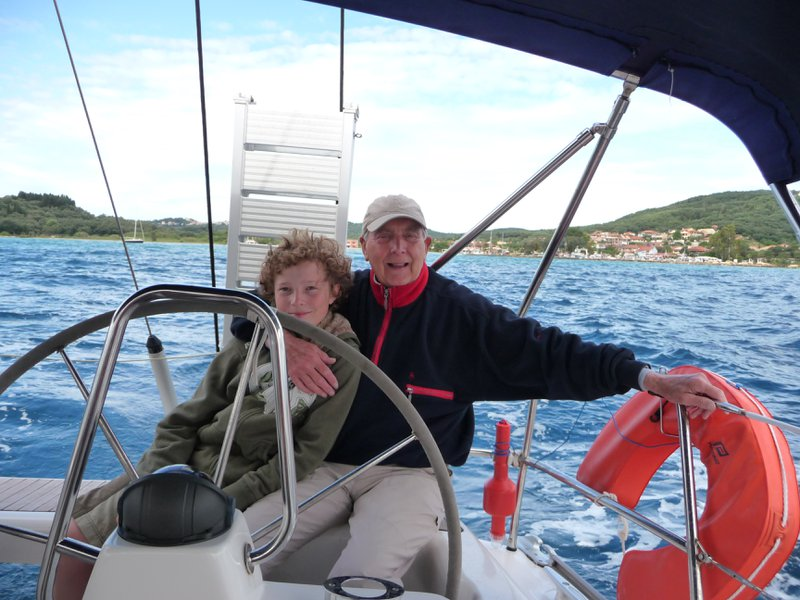 Sailing in Greece with Ali
